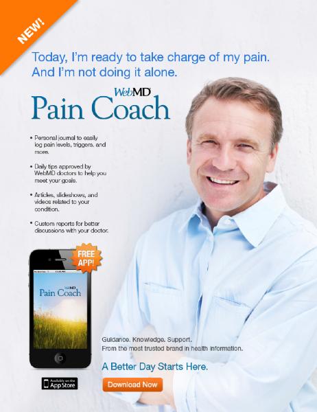 Pain Coach App Ad